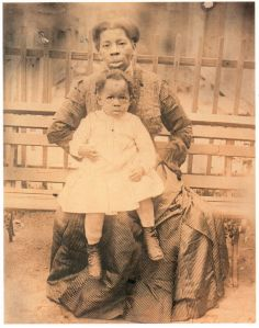 Black woman & child vintage